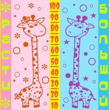 Полотенце махровое пестротканое жаккардовое  С107-ЮА 100x100 (3232, Расти большой)