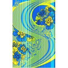 Полотенце махровое пестротканое жаккардовое С107-ЮА 100x160 (2926, Сладкий сон)