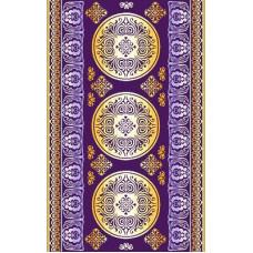 Полотенце махровое пестротканое жаккардовое С107-ЮА 100x160 (3058, Версаль)