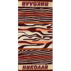 Полотенце махровое пестротканое жаккардовое С107-ЮА 100x50 (2880-15, Николай)