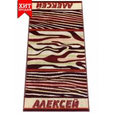 Полотенце махровое пестротканое жаккардовое С107-ЮА 100x50 (2880-2, Алексей)
