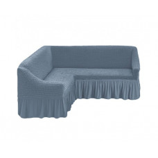 Чехол на угловой диван, 216 Серый (Gri)