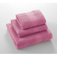 Утро розовый 40*70 махровое полотенце Г/К 400 г