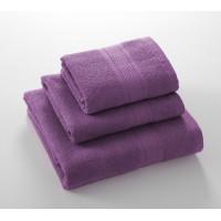 Утро сирень 40*70 махровое полотенце Г/К 400 г