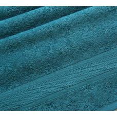 Утро морская волна 70*140 махровое полотенце Г/К 400 г