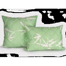 Подушка 70*70 (см) (бамбук, двухкамерный стеганный чехол, файбер) в сумке