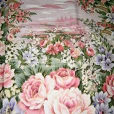 "ткань ""Тик"" A1-856 pink"
