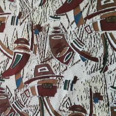 """Ткань декоративная жаккардовая """"Версаль"""" артикул С159/1-ЮА шир. 205 см (2630, вид 1)"""