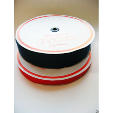 Лента контакт 16 мм черный (25м)