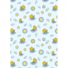 Одеяло детское байковое одностороннее (оверлок) 1,1х1,4 см