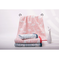Махровые полотенца 65*135 MOS18-55B2