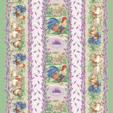 Прованские травы Ваф. полотенце грунт. 47*60
