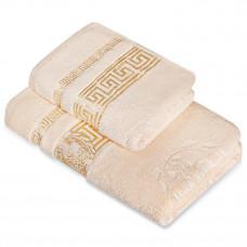 Полотенце махр гл/кр Эллада 70х140 крем pearled ivory