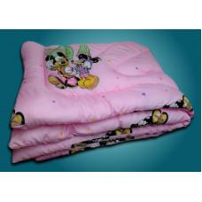 Одеяло дет.110*140 (см) (полиэфирное волокно,микрофибра)