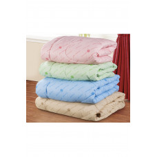 Одеяло облег. 140*205(см)(полиэфирное волокно,микрофибра) с густ. стеж.