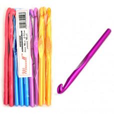 Крючки для вязания  арт.AL-CH04   12мм разноцветные