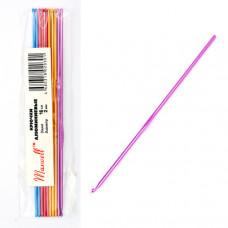 Крючки для вязания  арт.AL-CH04   2мм разноцветные