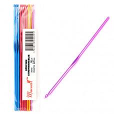 Крючки для вязания  арт.AL-CH04   2,5 мм разноцветные