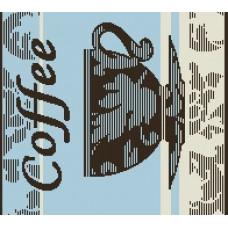 Салфетка махровая пестротканая жаккардовая  С79-ЮА 30x30 (4555, Кофе-чашка)