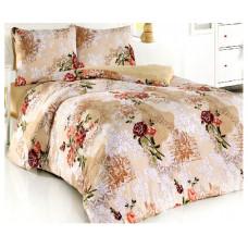 Комплект махрового постельного белья Рандеву 12427, р-р евро