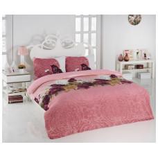 Комплект махрового постельного белья Эдельвейс, р-р евро