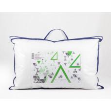 Подушка 40*60 (см) (100% заменитель лебяжьего пуха, тик 100% хлопок) в сумке