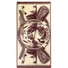 Полотенце махровое пестротканое жаккардовое С81-ЮА 70x140 (4600, Любителю охоты, 420)