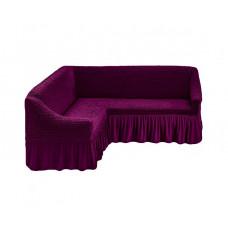 Чехол УП-1 на угловой диван, 225 Фиолетовый (Murdum)