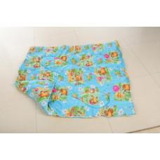 Одеяло дет.110*140 (см) (овечья шерсть,полисатин) в сум.