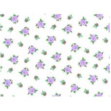 12с49 Фланель шир, 180-2П б/з Цветочки, ,