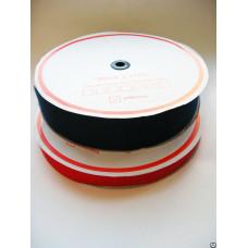 Лента контакт 100 мм черный (25м)