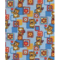 Р1871фон Фланель набивная детская фоновка, размер 90 (3160рис, 5вид, Сорт 1)