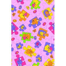 Р1871фон Фланель набивная детская фоновка, размер 90 (3206рис, 1вид, Сорт 1)