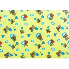 Р1871фон Фланель набивная детская фоновка, размер 90 (2783рис, 7вид, Сорт 1)
