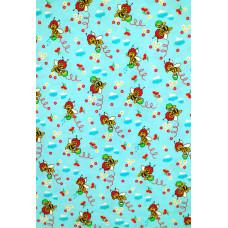 Р1871фон Фланель набивная детская фоновка, размер 90 (3190рис, 6вид, Сорт 1)