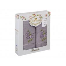 Набор полотенец KARTEKS 50х90/70х140 FLOWERS 7.03