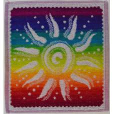 Салфетка махровая пестротканая жаккардовая  С79-ЮА 30x30 (3669, Солнышко)