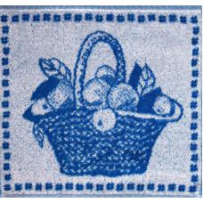 Салфетка махровая пестротканая жаккардовая  С79-ЮА 30x30 (1442, Корзина)