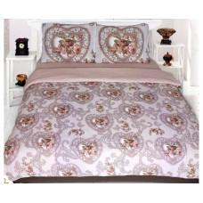 Комплект махрового постельного белья Амелия 10959, р-р евро