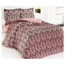 Комплект махрового постельного белья Венеция 9810, р-р евро