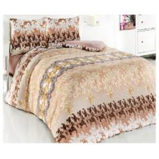 Комплект махрового постельного белья Осенний вальс 10926_04, р-р евро
