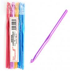 Крючки для вязания  арт.AL-CH04   4мм разноцветные