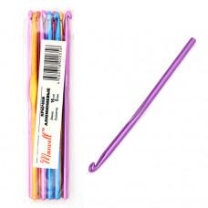 Крючки для вязания  арт.AL-CH04   5мм разноцветные