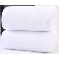 Полотенце махровое гостиничная серия 70х140 см. 450 гр./м.кв. БЕЛОЕ