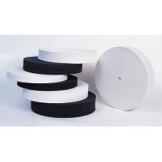Резинка вязанная 25 мм белая 50м