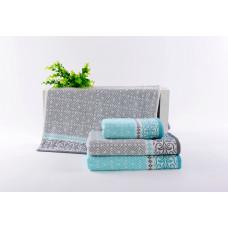 Махровые полотенца 65*135 MOS18-33B2