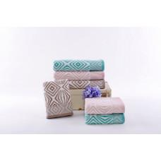 Махровые полотенца 65*135 MOS18-41B2