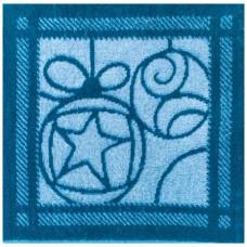 Салфетка махровая пестротканая жаккардовая С79-ЮА 30x30 (4025, Шары)