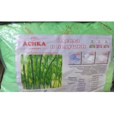Подушка 50*70 (см) (бамбук, двухкамерный стеганный чехол, файбер) в сумке