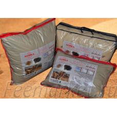 Подушка 50*70 (см) (верблюжья шерсть, двухкамерный стеганный чехол, файбер) в сумке